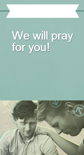 Pray Website Sidebar